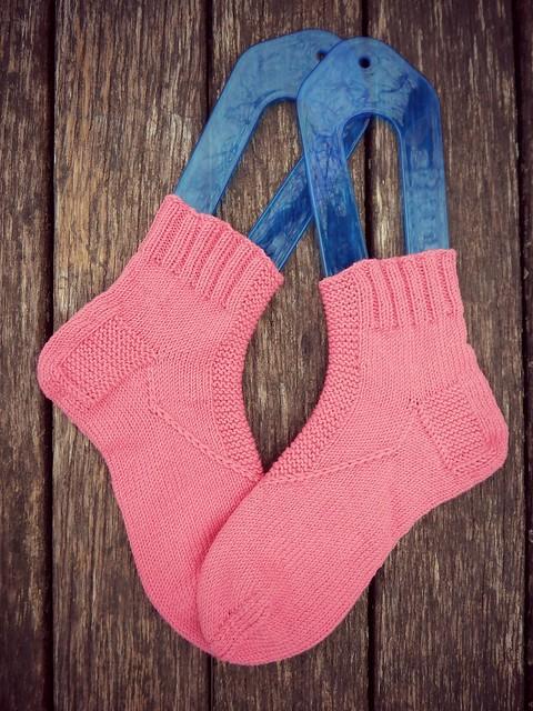 розовые носки dusk sharpen