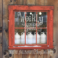"""""""Hilltown Families always offers such a complete listing of fun and educational events in the area for all ages… One of the great resources that make living in Western MA so family friendly. Thanks!"""" – Freja Joslin (Northampton, MA)"""
