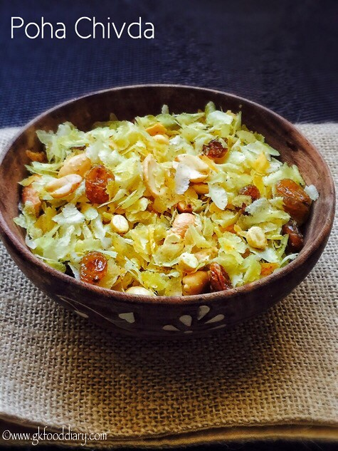 Poha Chivda Recipe for Toddlers and Kids2