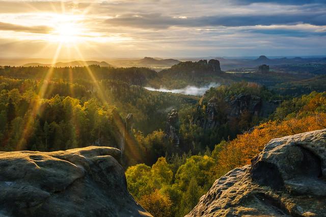 Eine famose Aussicht - a spectacular view