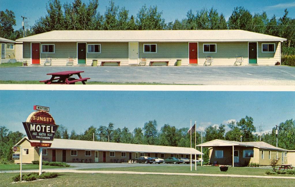 Sunset Motel - St. Ignace, Michigan