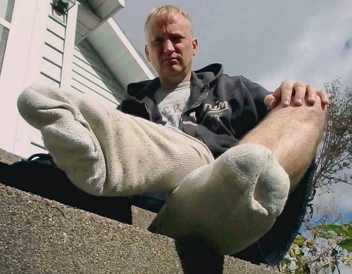 Kickin Back Relaxin With My Dirty White Smelly Socks -1009