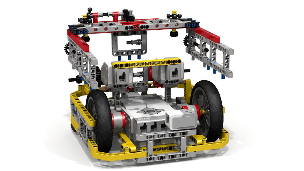 Fllying Box Turtle Lego Ev3 Robot This Lego Mindstorms E Flickr