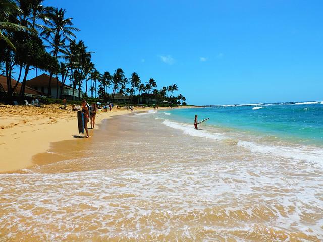 Kiahuna Beach, Kauai, Hawaii
