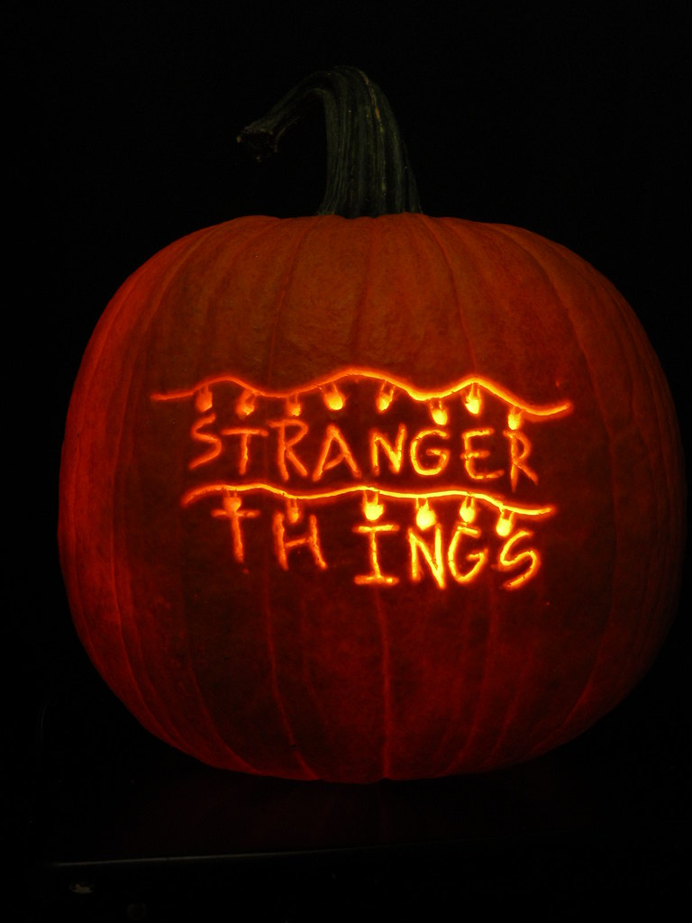 Stranger Things Pumpkin Anniejoshdc Flickr