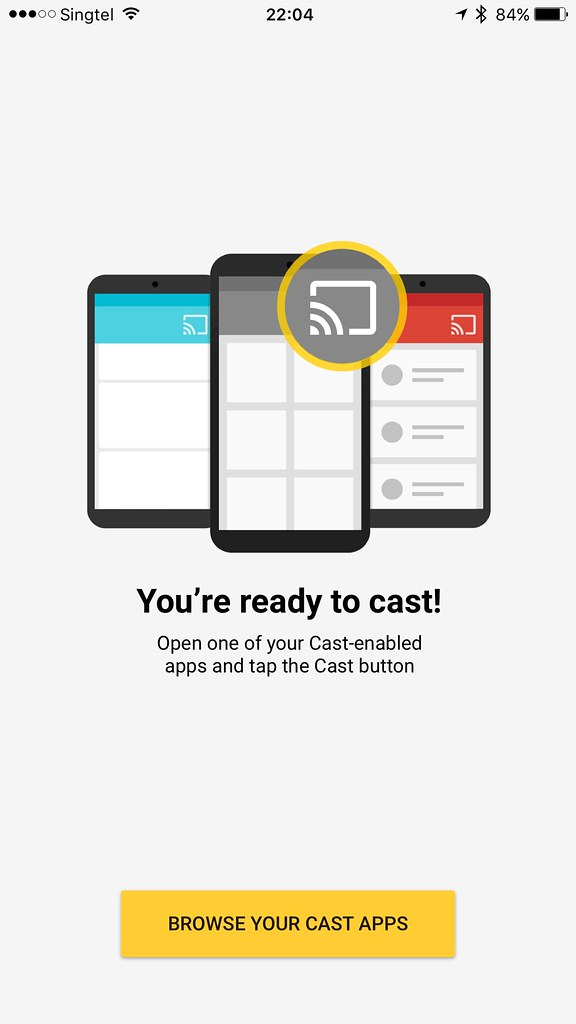 Chromecast iOS App - You're Ready To Cast! | Lester Chan
