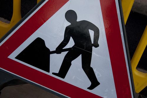Road Works on Sturt Highway