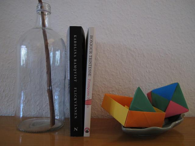 flickvännen by karolina ramqvist and bonjour tristesse by francoise sagan
