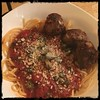 #Sugo All'#Arrabbiata #homemade #CucinaDelloZio - with Spaghetti and meatballs (polpetti)
