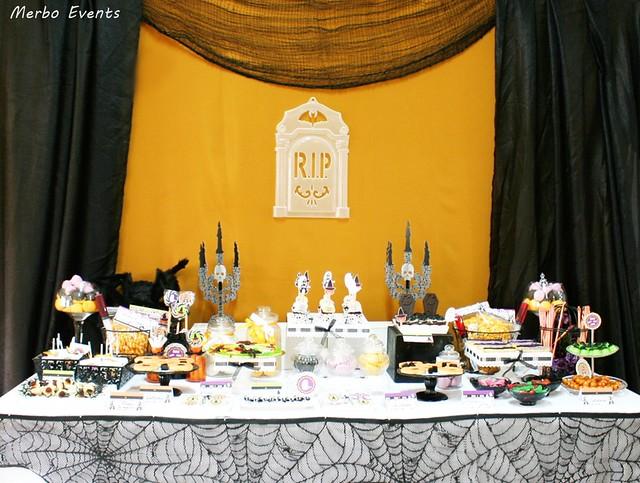 Mesa fiesta halloween 2016 Merbo Events