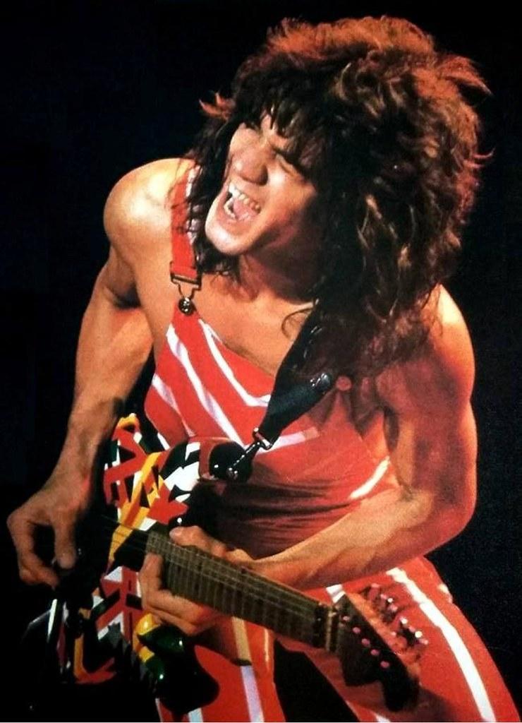 Eddie Van Halen Rasta Guitar 1982
