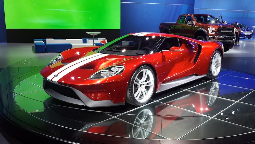 Ford Gt At Dubai International Motor Show Daysuae