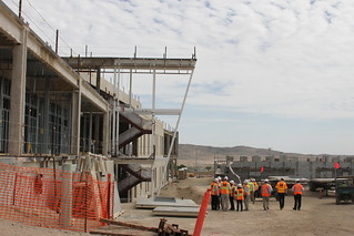 USACE senior leaders visit Fort Irwin Hospital project | by U.S. Army Corps of Engineers
