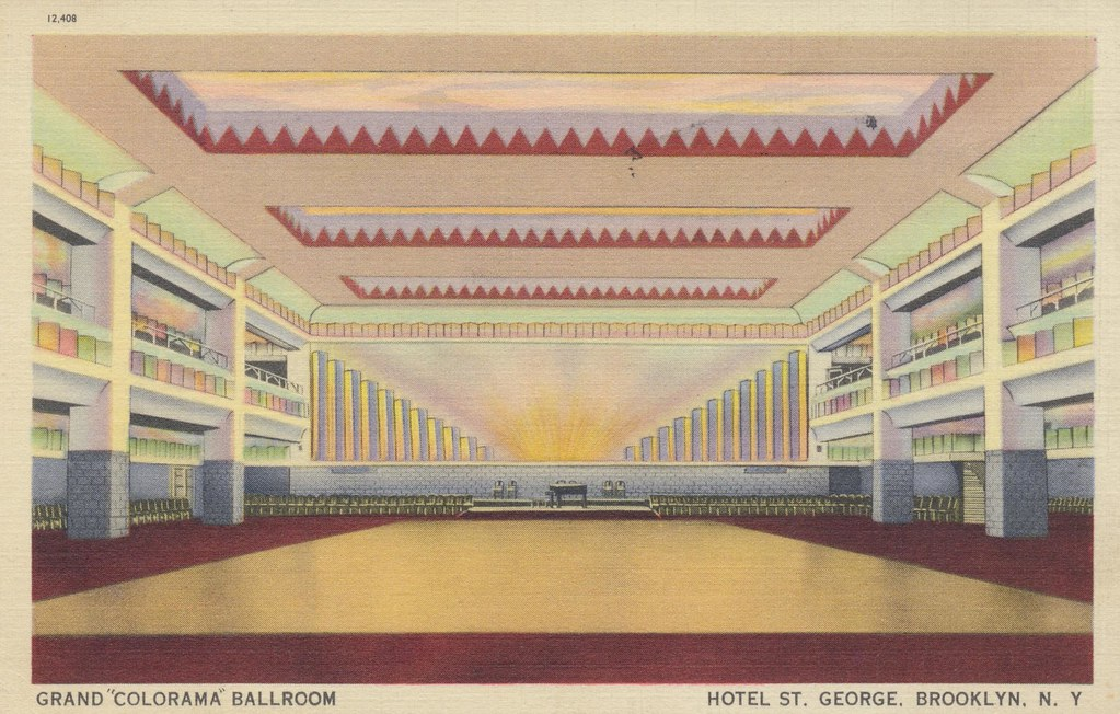 St. George Hotel Grand Colorama Ballroom - New York, New York