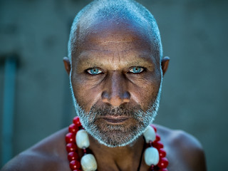 Street portrait of Sufi mystic | by Sohail Karmani