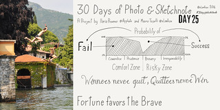 Day 25. La fortuna aiuta gli audaci - Fortune favors the brave | by xLontrax
