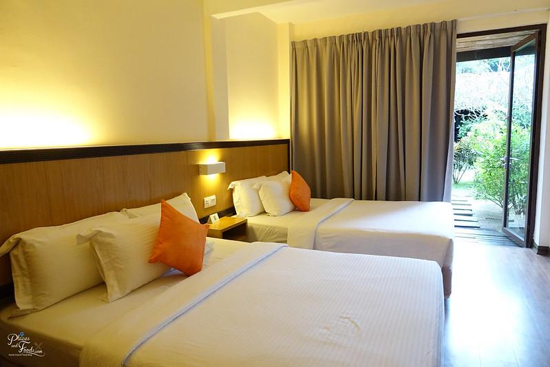 bubu resort twin bed room