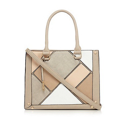 Call It Spring Taupe 'Rubybarb' tote bag