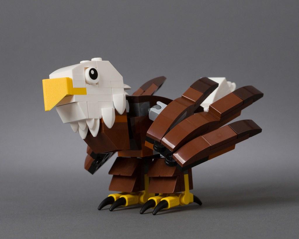 Lego Hub Birds United States The Bald Eagle National Bi Flickr