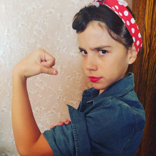 Rosie the riveted.