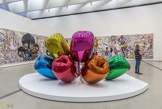 Tulips Jeff Koons The Broad Museum Los Angeles 02 | by Eva Blue