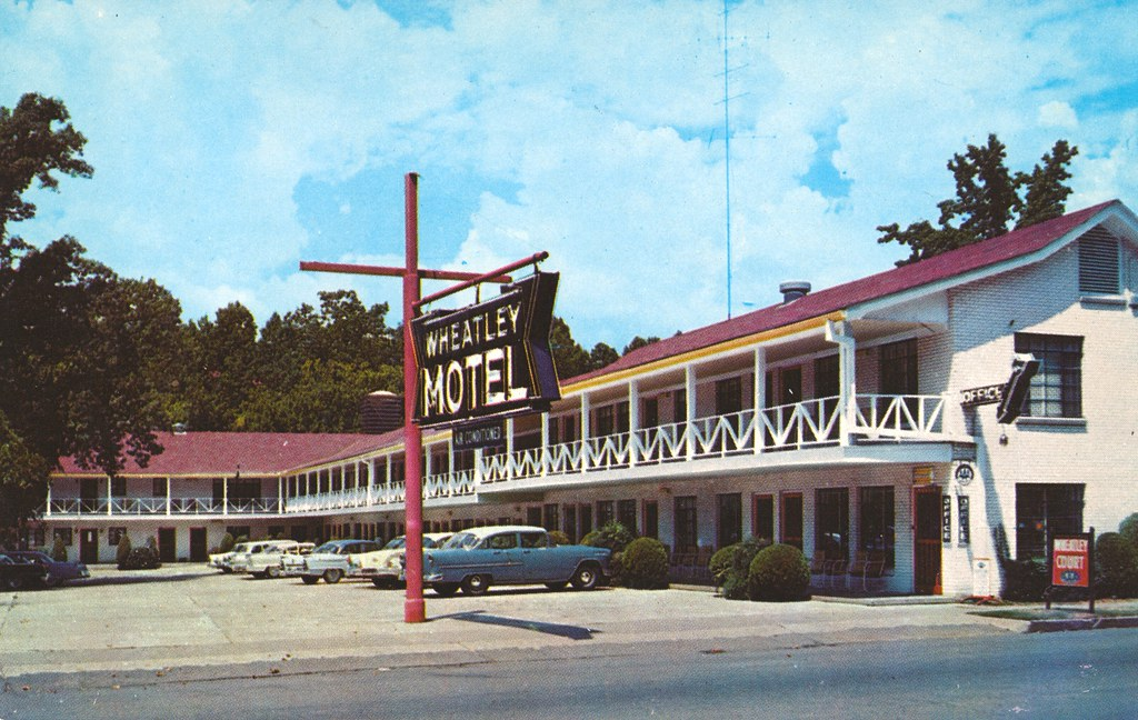 Wheatley Motel - Hot Springs National Park, Arkansas