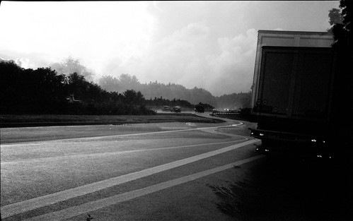 lines on the highway | by my analog journey
