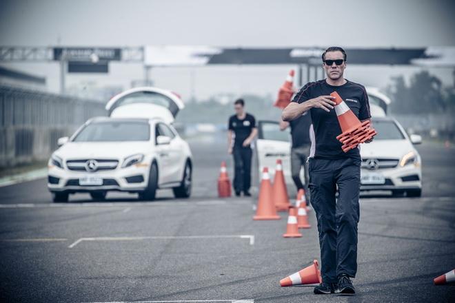 德國原廠教練團量身打造極致安全的AMG極速體驗