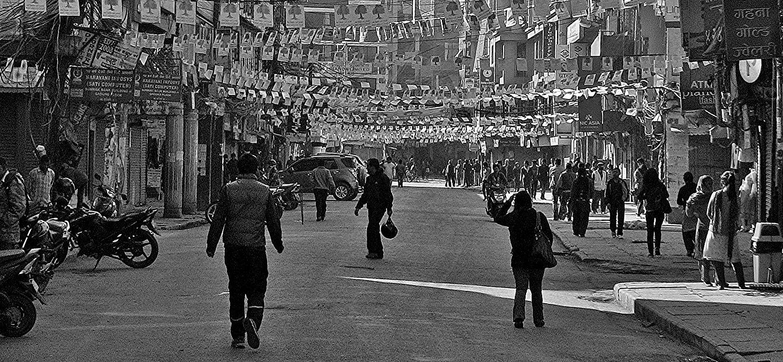 NEPAL, Kathmandu - unterwegs in der Altstadt, 15017/7651