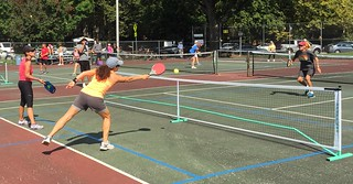 Enthusiasts whack pickleballs | by buhrayin