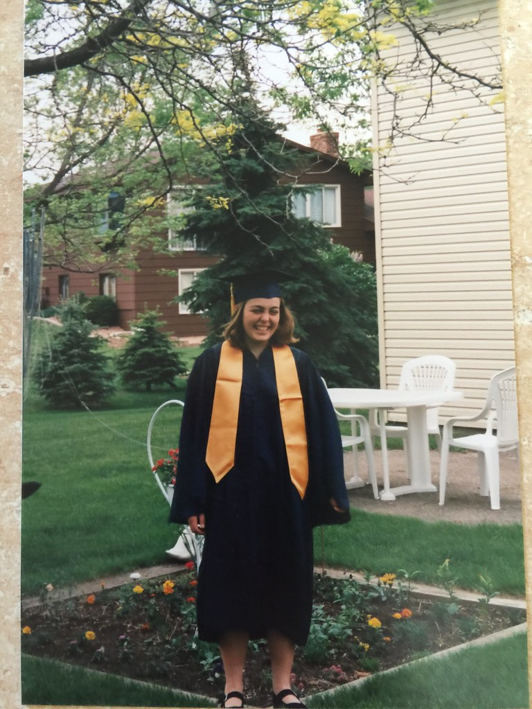 Cap and gown for high school graduation - 1997 | m01229 | Flickr