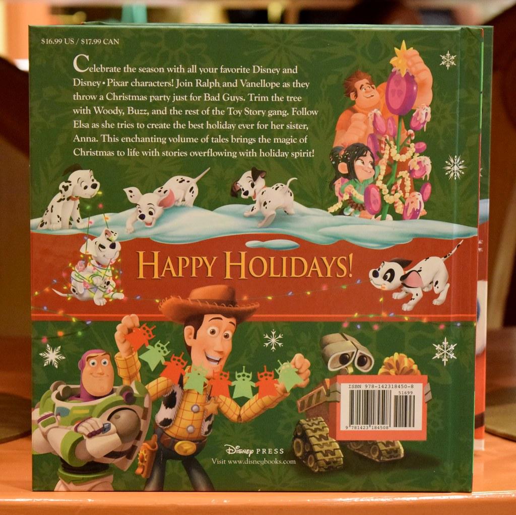 disneyland visit 2015 11 22 world of disney holiday merchandise dept - Disney Christmas Storybook Collection