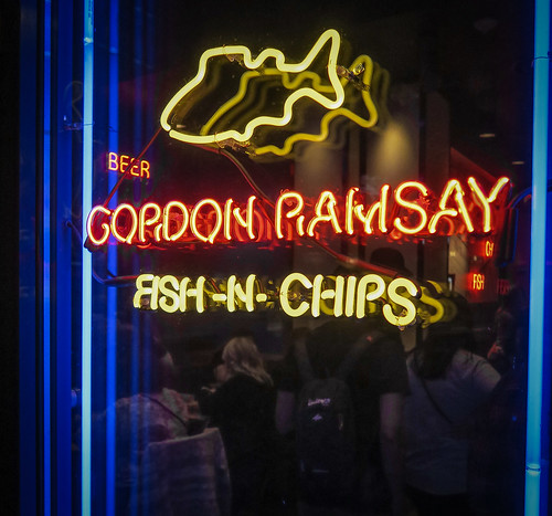 Gordon Ramsy Fish N Chips. Image: Robert Montgomery, CC.