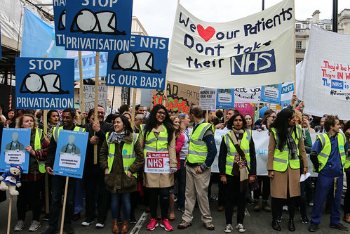 Junior Doctors' Protest | by Rohin Francis