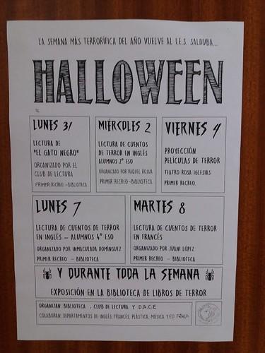 Actividades de Halloween en Biblioteca