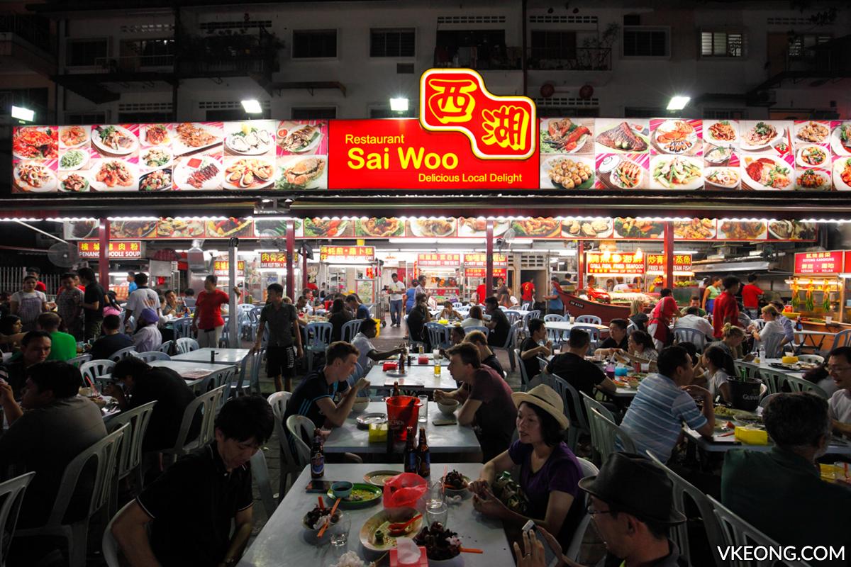 Sai Woo Restaurant Jalan Alor KL