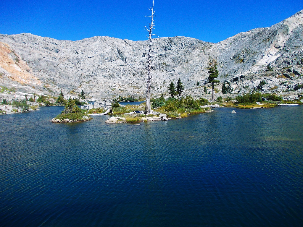 Island Lake, Desolation Of Wilderness, Sierra Nevada, CA