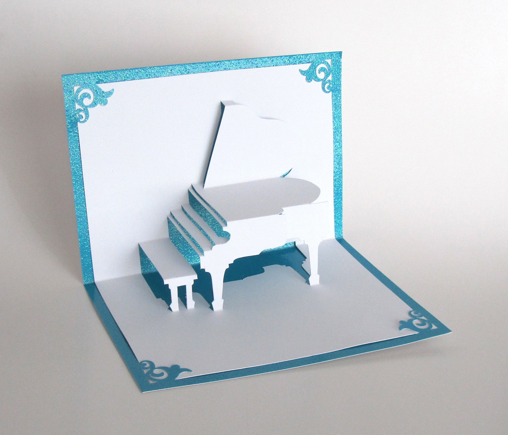 Hot off the press-12x12 template-3d pop up cards.