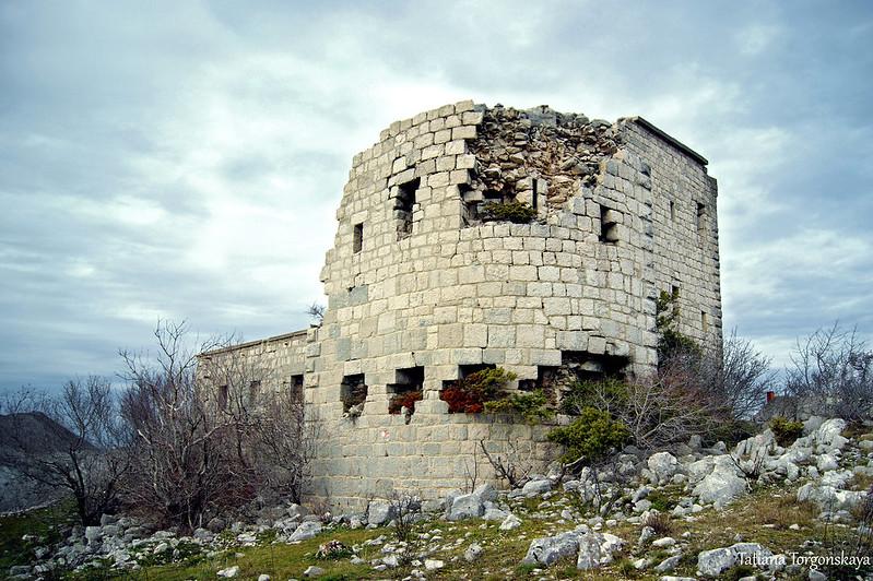 Вид крепость