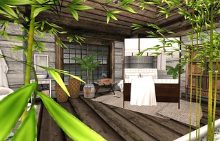 Bali Ha'i Bed | by Hidden Gems in Second Life (Interior Designer)