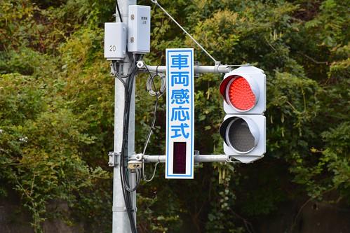 気仙沼BRT:車両感応式信号機