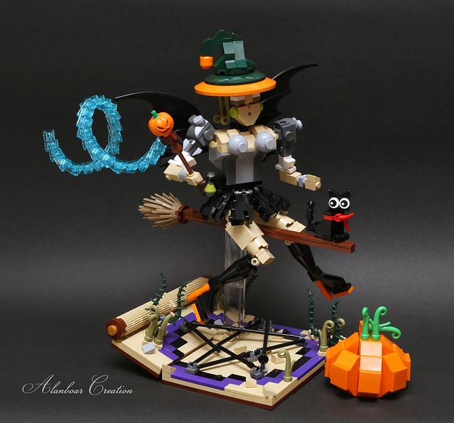 LEGO Halloween Witch