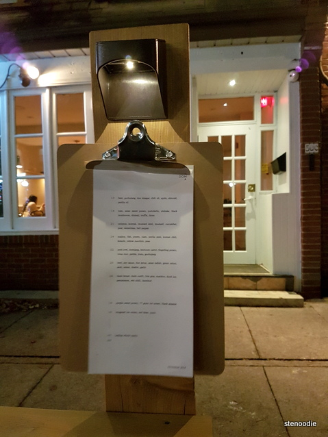 Doma Toronto storefront clipboard