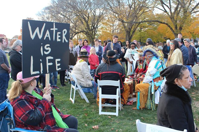 Delaware with Standing Rock: Day of Action in Dover