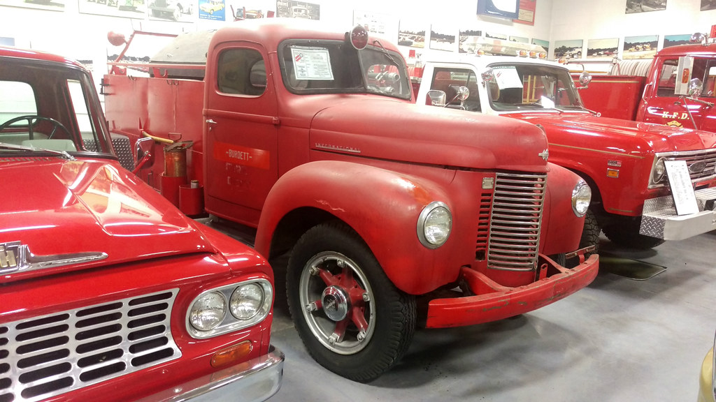 1942 International K5 Fire Truck A Whole Lot Of Red In Thi Flickr