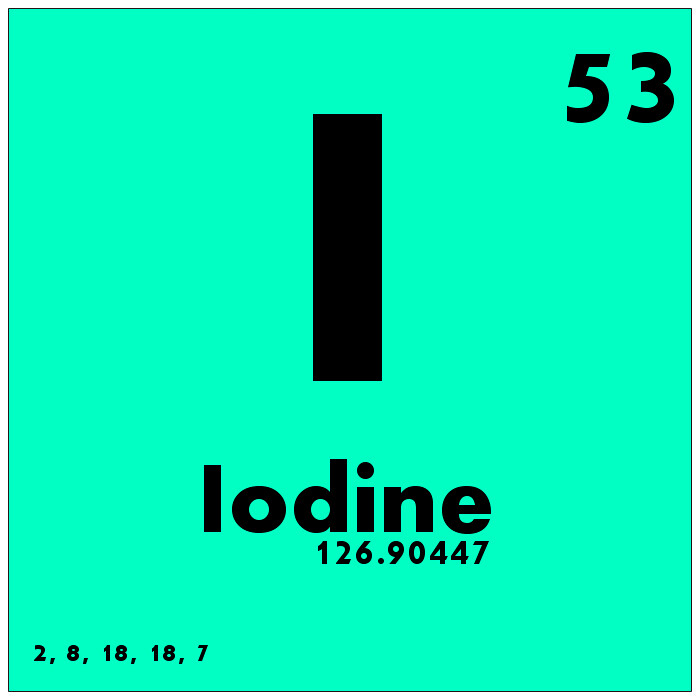 053 iodine periodic table of elements watch study guide flickr 053 iodine periodic table of elements by science activism urtaz Images