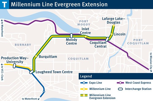 Evergreen Line Transit Stations | by BC Gov Photos