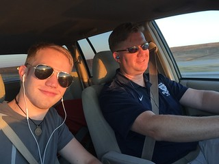 Alex Fryer and Wes Fryer enroute to Colorado | by Wesley Fryer