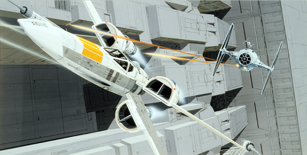 ... McQuarrie X Wing | By Andy R Moore