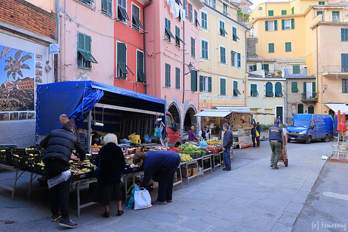 Vernazza at Morning